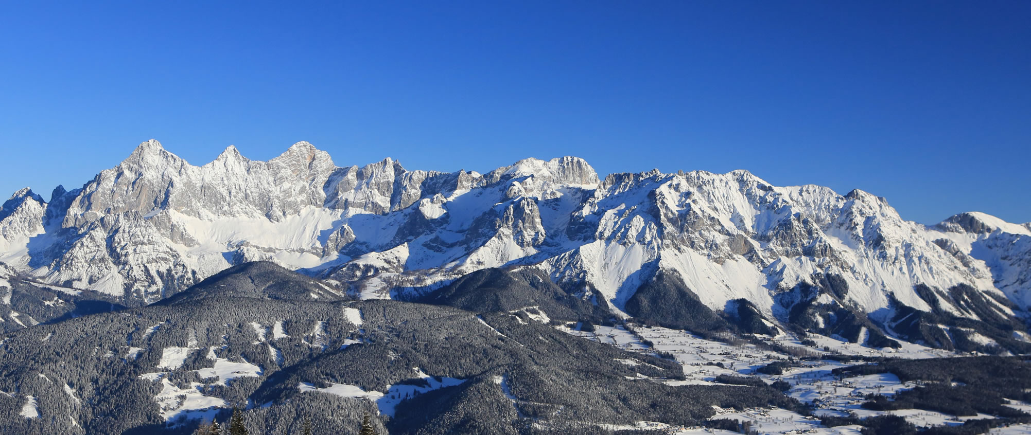 Winterlandschaft in Ramsau am Dachstein