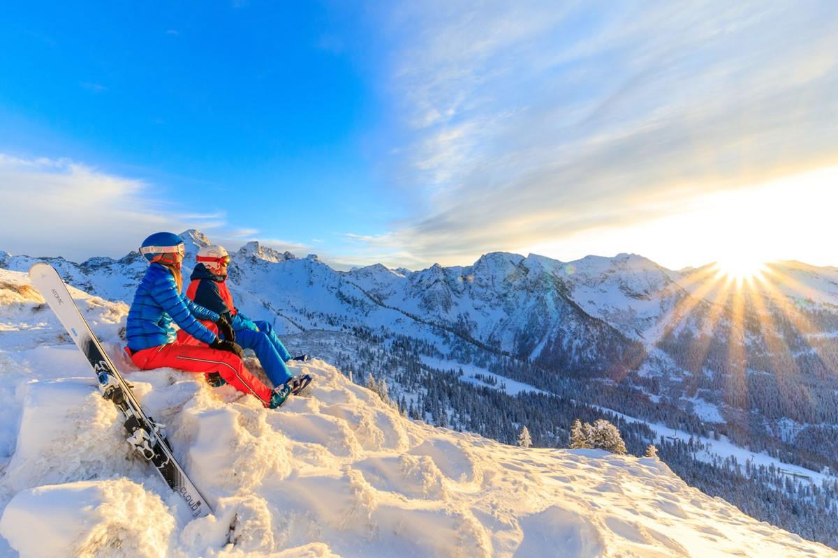 skifahren in ski amad pension hochk nig ramsau. Black Bedroom Furniture Sets. Home Design Ideas